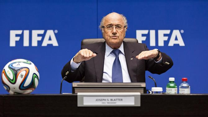 World Cup - Russia 2018 not under discussion, says Blatter