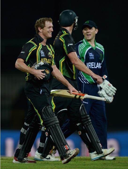 Australia v Ireland - ICC World Twenty20 2012: Group B