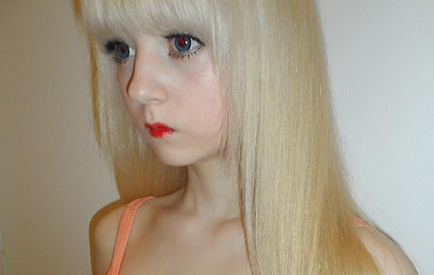 Venus Palermo, 15, in one of her many 'doll' photos (Photo courtesy of Venus Palermo)