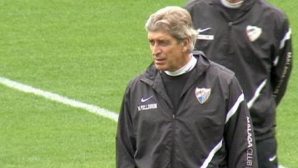 Pellegrini named new Manchester City coach