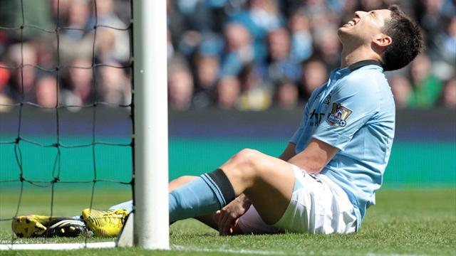 Premier League - Nasri admits City woes brought him close to tears