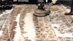 Family-owned business 'Rug Worx' makes dirty rugs look new again in satisfying cleaning process