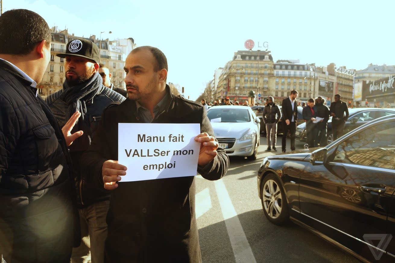 Uber shuts down Paris service to protest new regulations