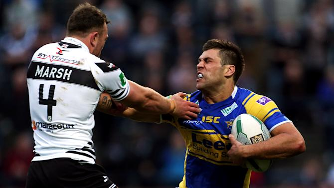 Rugby League - Super League - Leeds Rhinos v Widnes Vikings - Headingley Stadium