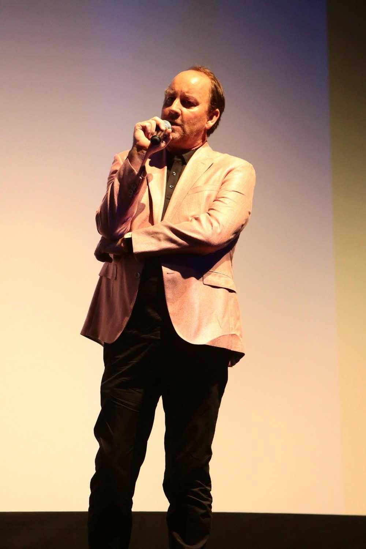 <p>《終極戰士》系列電影的幕後王牌製片約翰戴維斯(John Davis)也現身會場,和導演、卡司大談本片的製作秘辛。 </p>