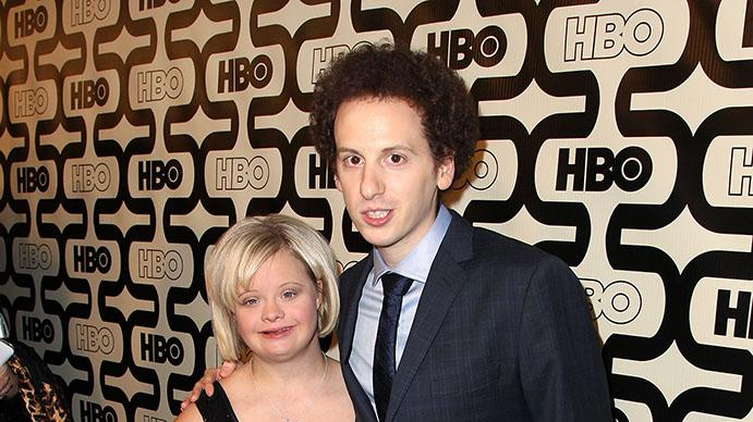 HBO's Official Golden Globe Awards After Party - Red Carpet: Lauren Potter and Josh Sussman