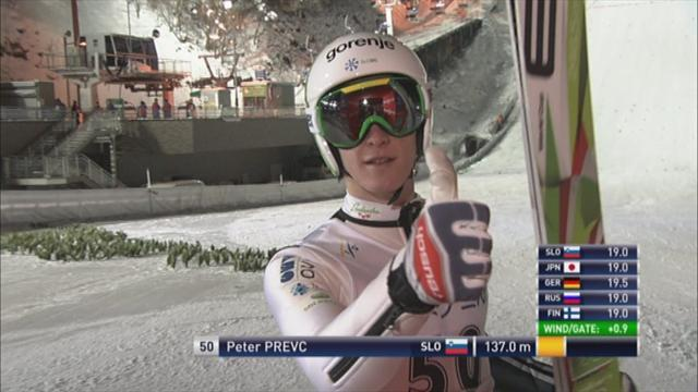 Ski Jumping - Prevc back to winning ways in Sapporo