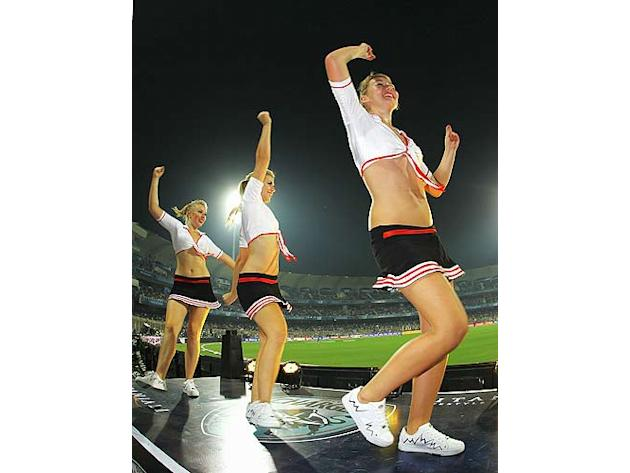 It is difficult to fathom Twenty20 cricket without a few set of pompoms and a bunch of enthusiastic cheerleaders egging on the teams and energising the crowds. International T20 got its initial taste