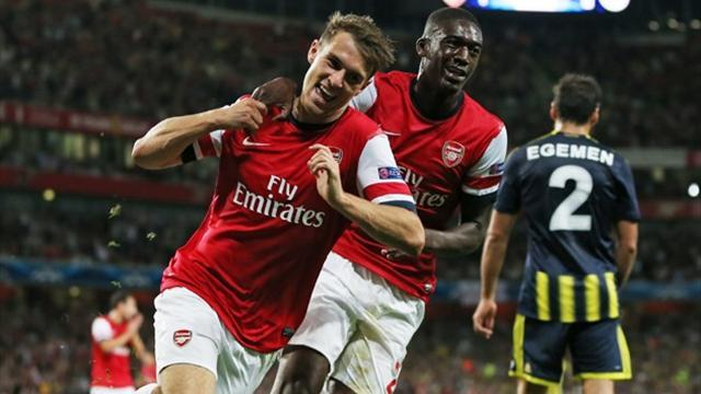 Champions League - Ramsey brace sees Arsenal past Fenerbahce