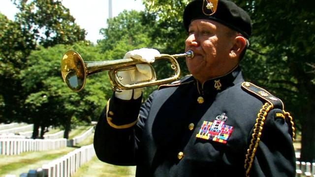 "For one Air Force vet, playing ""Taps"" is a sacred duty"