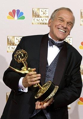 John Spencer Best Supporting Actor - Drama The West Wing Emmy Awards - 9/22/2002