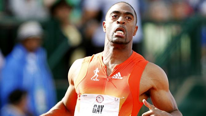 Athletics - IAAF will not appeal Gay's one-year doping ban