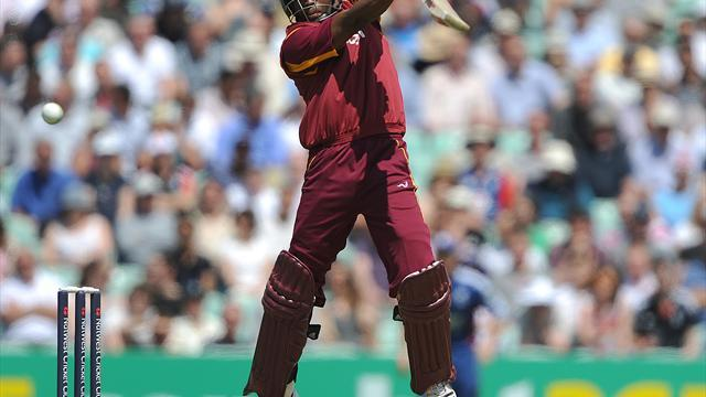 Cricket - Duo rescue West Indies