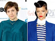 Lena Dunham Criticizes Rihanna for Dating Chris Brown, Smoking Marijuana