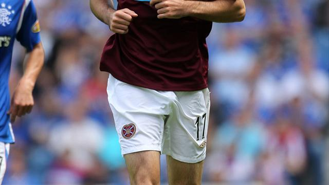 Football - McGowan bids farewell to Hearts