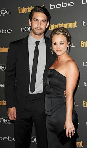 Kaley Cuoco, Ryan Sweeting Make First Red Carpet Couple Appearance: Picture