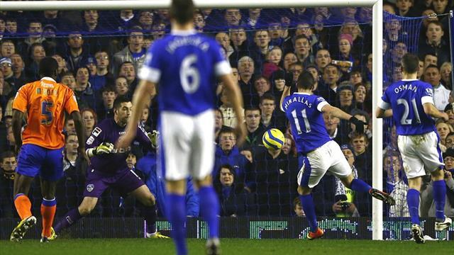 FA Cup - Everton cruise to Oldham cup win