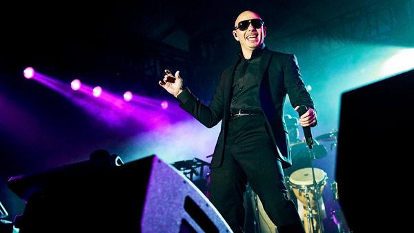 Pitbull and Flo Rida Kick Off Big Game Weekend With Style and Swagger