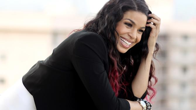 """In this Friday, Aug. 3, 2012 photo, actress Jordin Sparks from the upcoming film """"Sparkle,"""" poses for a portrait in Beverly Hills, Calif. Sparks became the title character in the remake of the 1976 musical when her music career was in flux and she looked to her passion for acting. The film will be released in theaters Aug. 17. (Photo by Matt Sayles/Invision/AP)"""