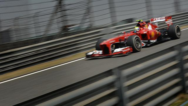 Chinese Grand Prix - Massa tops second practice