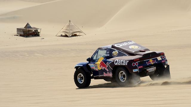 Dakar - Cars: Al-Attiyah closes on Peterhansel