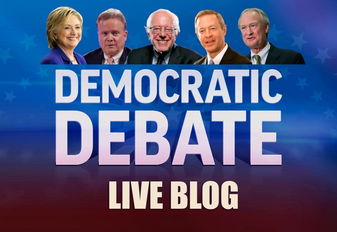 Las Vegas Democratic primary debate live blog and post show