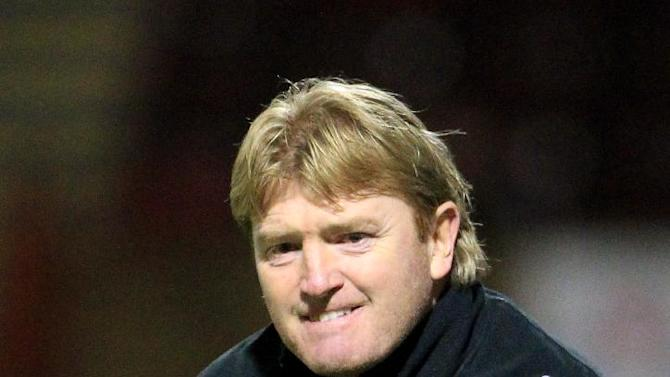 Stuart McCall's Motherwell side have been dumped out of the Champions League