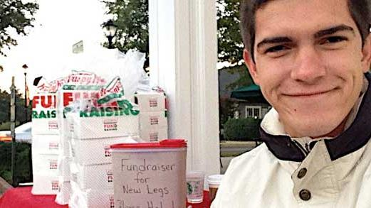 Doughnuts Pay for Man's Prosthetic Legs