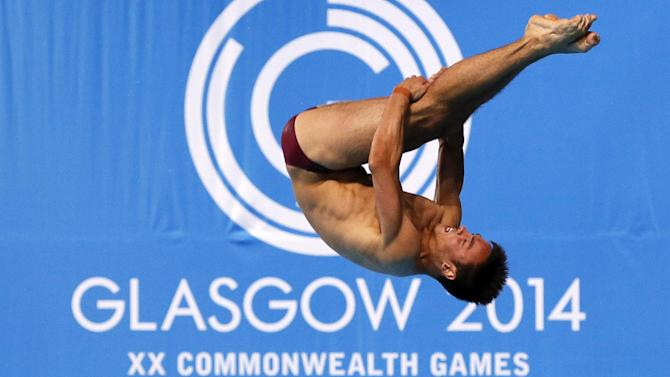 Diving - Tom Daley's delight at international diving return
