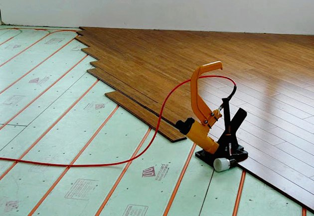 Heat your entire house with a new radiant heat system for New home heating systems