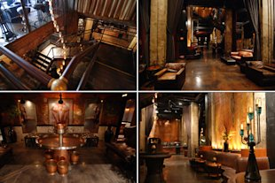 The Edison Lounge is set in an old power plant in downtown L.A.