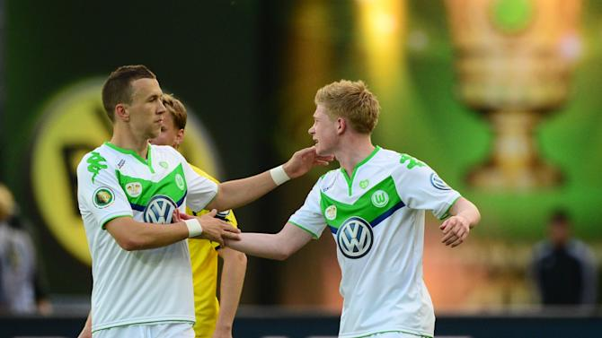 Wolfsburg regrets De Bruyne, Perisic sales