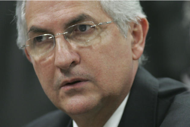 FILE - In this Oct. 27, 2009 file photo, Caracas' Mayor Antonio Ledezma attends a meeting by the Commission of External Relationships in Brazil's Senate in Brasilia, Brazil. The jailed mayor o