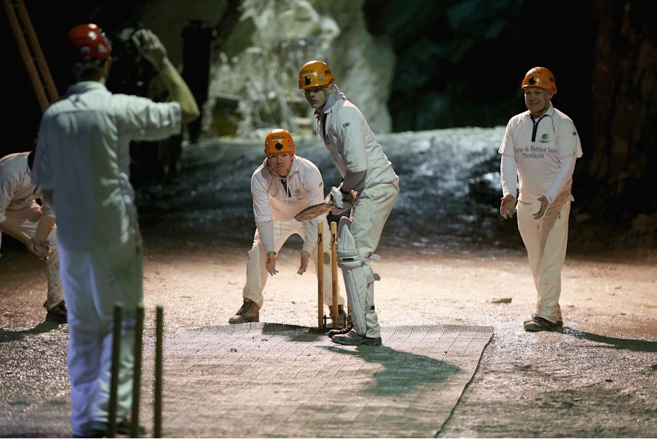 World's First Underground Cricket Match