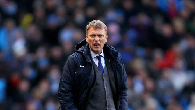 David Moyes was far from impressed with the awarding of a penalty to Manchester City