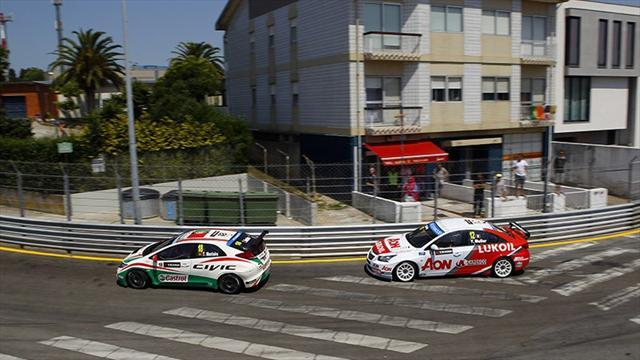 WTCC - Michelisz and Monteiro fastest in warm-up
