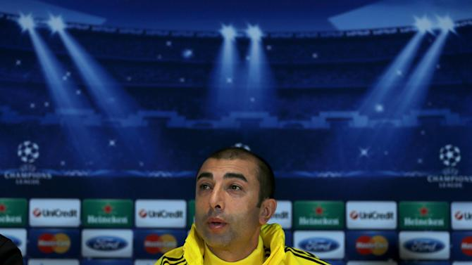 Roberto Di Matteo insists Chelsea have the experience to progress from the group stages