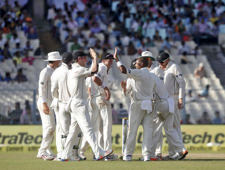 Cricket - India v New Zealand - Second Test cricket match