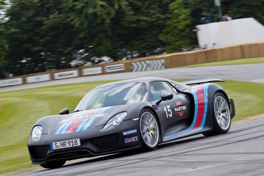 擊潰Veyron神話 918 Spyder實測更快