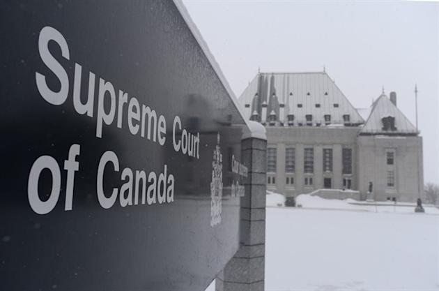 The Supreme Court of Canada will rule Friday morning on whether mentally competent but suffering, terminally ill patients have a right to a medically assisted death. The Supreme Court is seen in Ottawa on Friday, Feb. 6, 2015. THE CANADIAN PRESS/Sean Kilpatrick