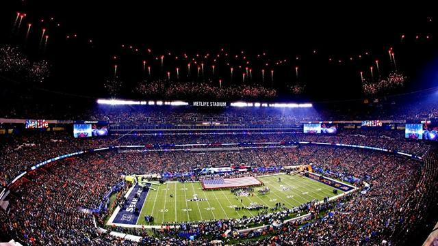 American Football - Record television audience for Super Bowl
