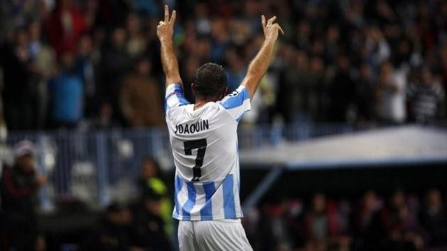 Serie A - Fiorentina confirm agreement with Malaga for Joaquin