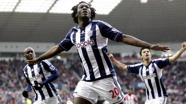 West Bromwich Albion striker Romelu Lukaku