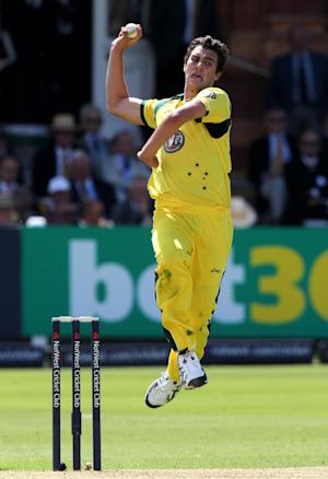 Pat Cummins bowled Australia's super over in their Twenty20 loss to Pakistan
