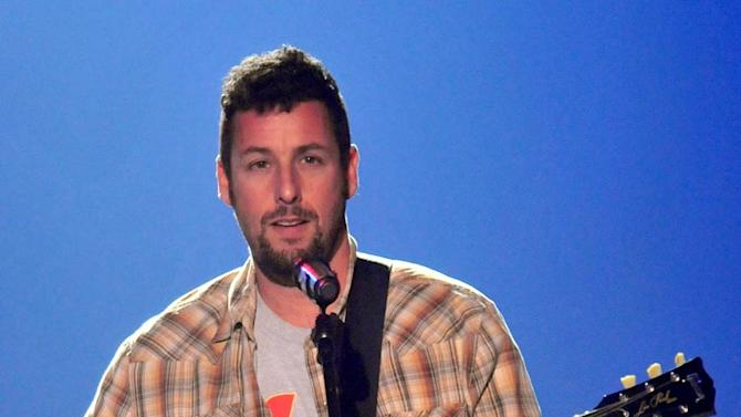 Adam Sandler onstage at the 2008 VH1 Rock Honors honoring The Who at UCLA's Pauley Pavilion on July 12, 2008 in Los Angeles, California.