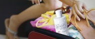 A girl's gotta have her fragrance. Find out how to pack perfume here.