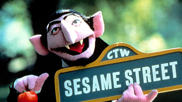 Count von Count on Sesame Street
