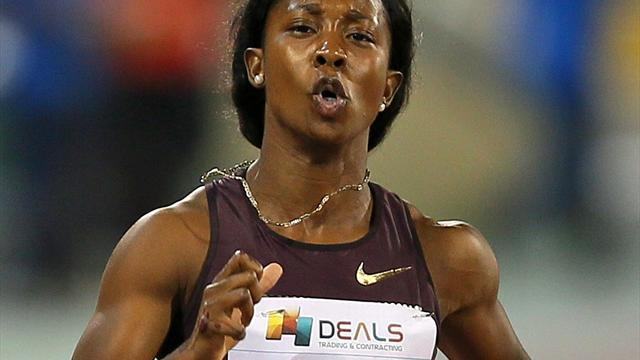 Athletics - Fraser-Pryce eases home, Jeter stretchered off