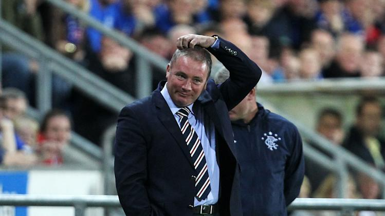 Ally McCoist has been frustrated by Rangers' performances this season