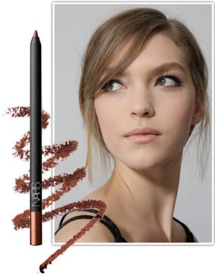 NARS Larger Than Life Long-Wear Eyeliner in Via Appia Read more: Younger Looking Eyes - How to Get Bigger Eyes Makeup Tips - Harper's BAZAAR